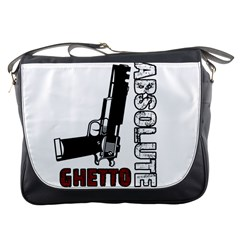 Absolute ghetto Messenger Bags