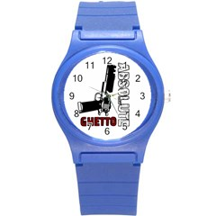 Absolute ghetto Round Plastic Sport Watch (S)