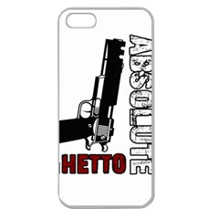 Absolute ghetto Apple Seamless iPhone 5 Case (Clear)
