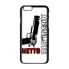 Absolute ghetto Apple iPhone 6/6S Black Enamel Case