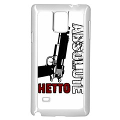 Absolute ghetto Samsung Galaxy Note 4 Case (White)