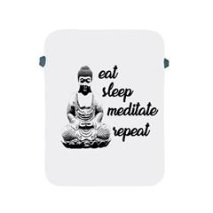 Eat, sleep, meditate, repeat  Apple iPad 2/3/4 Protective Soft Cases
