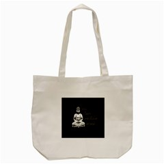Eat, sleep, meditate, repeat  Tote Bag (Cream)