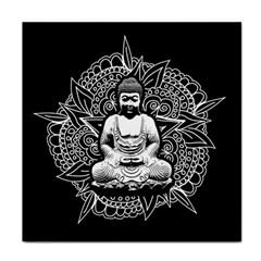 Ornate Buddha Tile Coasters