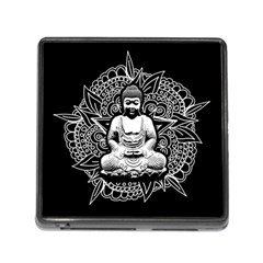 Ornate Buddha Memory Card Reader (Square)