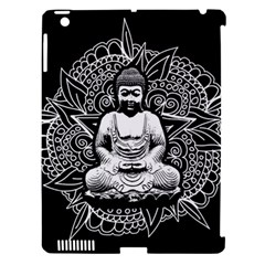 Ornate Buddha Apple iPad 3/4 Hardshell Case (Compatible with Smart Cover)