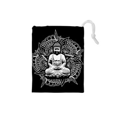 Ornate Buddha Drawstring Pouches (Small)