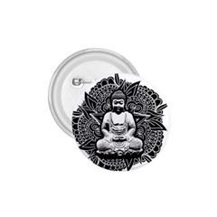 Ornate Buddha 1.75  Buttons