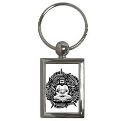 Ornate Buddha Key Chains (Rectangle)