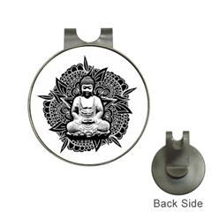Ornate Buddha Hat Clips with Golf Markers