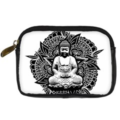 Ornate Buddha Digital Camera Cases