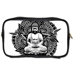Ornate Buddha Toiletries Bags