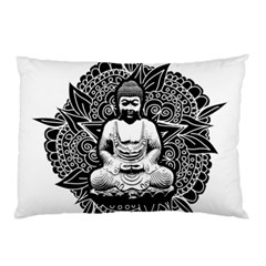Ornate Buddha Pillow Case (Two Sides)