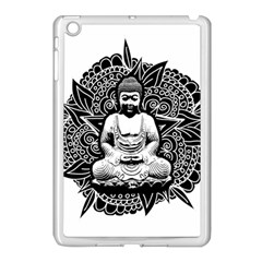 Ornate Buddha Apple iPad Mini Case (White)
