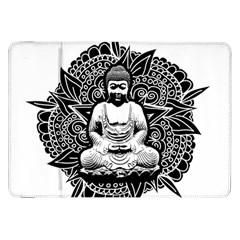 Ornate Buddha Samsung Galaxy Tab 8.9  P7300 Flip Case