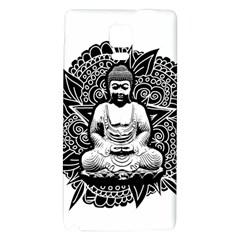 Ornate Buddha Galaxy Note 4 Back Case