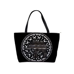 Ornate mandala elephant  Shoulder Handbags