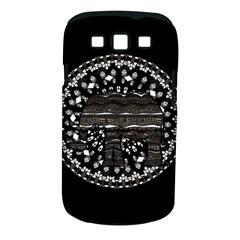 Ornate mandala elephant  Samsung Galaxy S III Classic Hardshell Case (PC+Silicone)