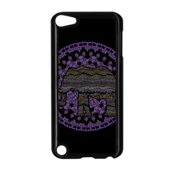 Ornate mandala elephant  Apple iPod Touch 5 Case (Black)