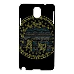 Ornate mandala elephant  Samsung Galaxy Note 3 N9005 Hardshell Case