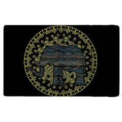 Ornate Mandala Elephant  Apple Ipad Pro 12 9   Flip Case