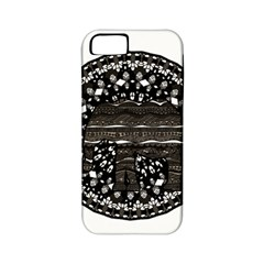 Ornate mandala elephant  Apple iPhone 5 Classic Hardshell Case (PC+Silicone)