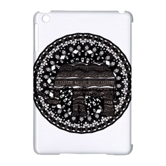 Ornate mandala elephant  Apple iPad Mini Hardshell Case (Compatible with Smart Cover)