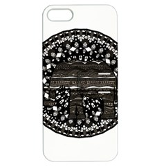 Ornate mandala elephant  Apple iPhone 5 Hardshell Case with Stand
