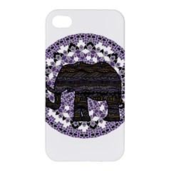 Ornate mandala elephant  Apple iPhone 4/4S Premium Hardshell Case