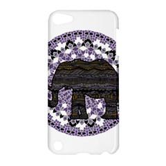 Ornate mandala elephant  Apple iPod Touch 5 Hardshell Case