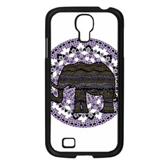 Ornate mandala elephant  Samsung Galaxy S4 I9500/ I9505 Case (Black)