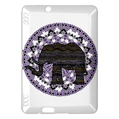 Ornate mandala elephant  Kindle Fire HDX Hardshell Case