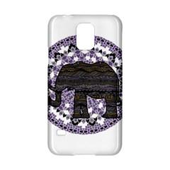 Ornate mandala elephant  Samsung Galaxy S5 Hardshell Case
