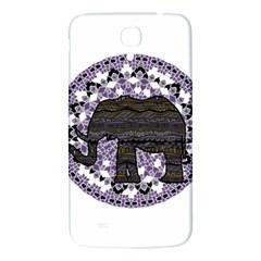 Ornate mandala elephant  Samsung Galaxy Mega I9200 Hardshell Back Case