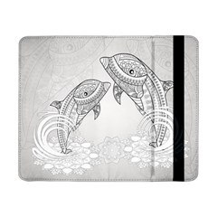 Beautiful Dolphin, Mandala Design Samsung Galaxy Tab Pro 8.4  Flip Case