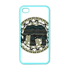 Ornate mandala elephant  Apple iPhone 4 Case (Color)
