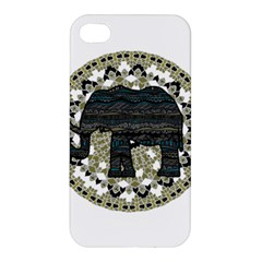 Ornate mandala elephant  Apple iPhone 4/4S Hardshell Case