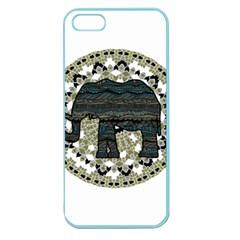 Ornate mandala elephant  Apple Seamless iPhone 5 Case (Color)