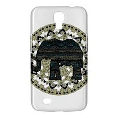 Ornate mandala elephant  Samsung Galaxy Mega 6.3  I9200 Hardshell Case