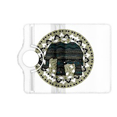 Ornate mandala elephant  Kindle Fire HD (2013) Flip 360 Case