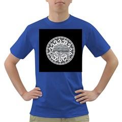 Ornate mandala elephant  Dark T-Shirt