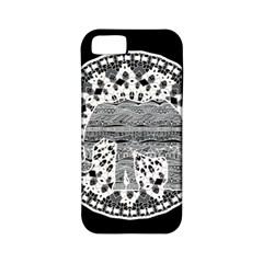 Ornate mandala elephant  Apple iPhone 5 Classic Hardshell Case (PC+Silicone)