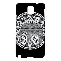 Ornate mandala elephant  Samsung Galaxy Note 3 N9005 Hardshell Case