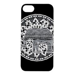 Ornate mandala elephant  Apple iPhone 5S/ SE Hardshell Case