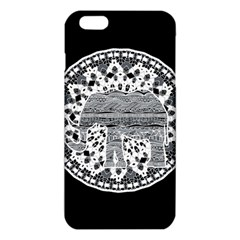 Ornate mandala elephant  iPhone 6 Plus/6S Plus TPU Case