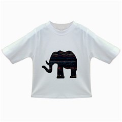 Ornate mandala elephant  Infant/Toddler T-Shirts