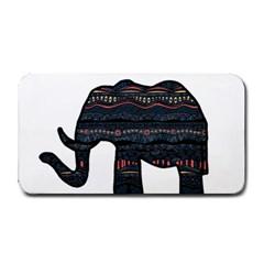 Ornate mandala elephant  Medium Bar Mats