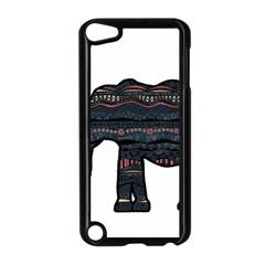 Ornate mandala elephant  Apple iPod Touch 5 Case (Black)