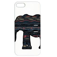 Ornate mandala elephant  Apple iPhone 5 Hardshell Case with Stand