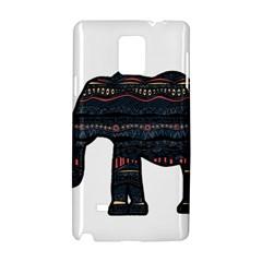 Ornate mandala elephant  Samsung Galaxy Note 4 Hardshell Case